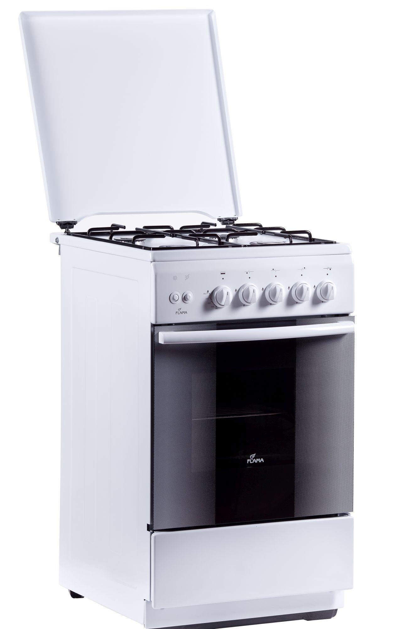 Flama FG 2426 W, White плита газовая