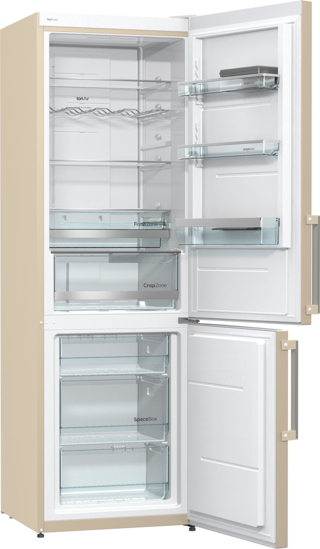 Холодильник Gorenje NRK6191MC, бежевый