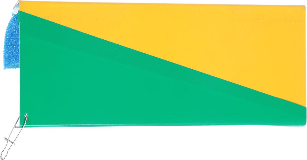 Планер Blind Metal Planer, правый, цвет: желтый, зеленый, синий