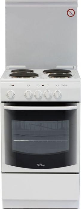 De Luxe 5004.13Э КР, White плита электрическая