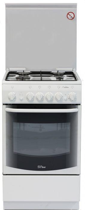 Плита De Luxe 5040.33г, White, газовая