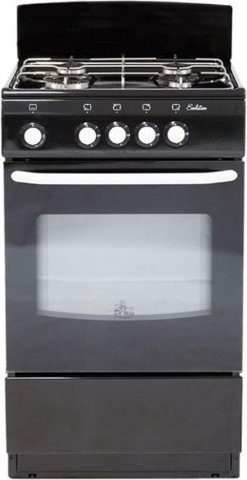 De Luxe 5040.38г, Black плита газовая