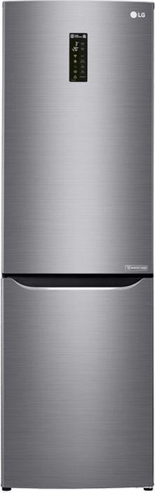 лучшая цена LG GA-B429SMQZ, Grey холодильник