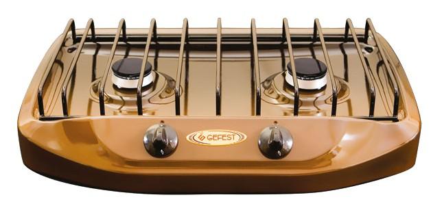 Плита Gefest 700-02, Brown, газовая настольная цена и фото