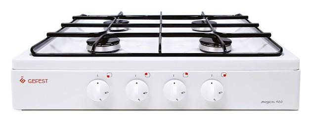Плита Gefest ПГ 900, White, газовая настольная цена и фото
