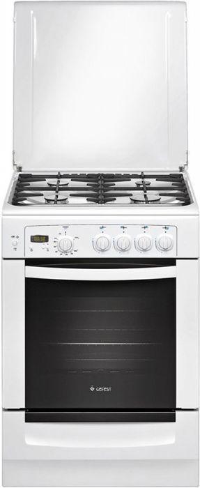 Плита Gefest 6100-03, White, газовая