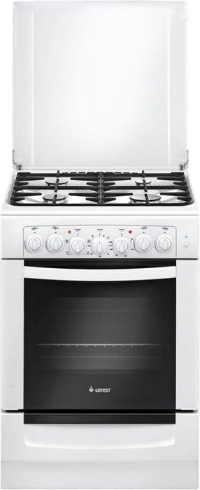 Плита Gefest 6102-02, White, комбинированная