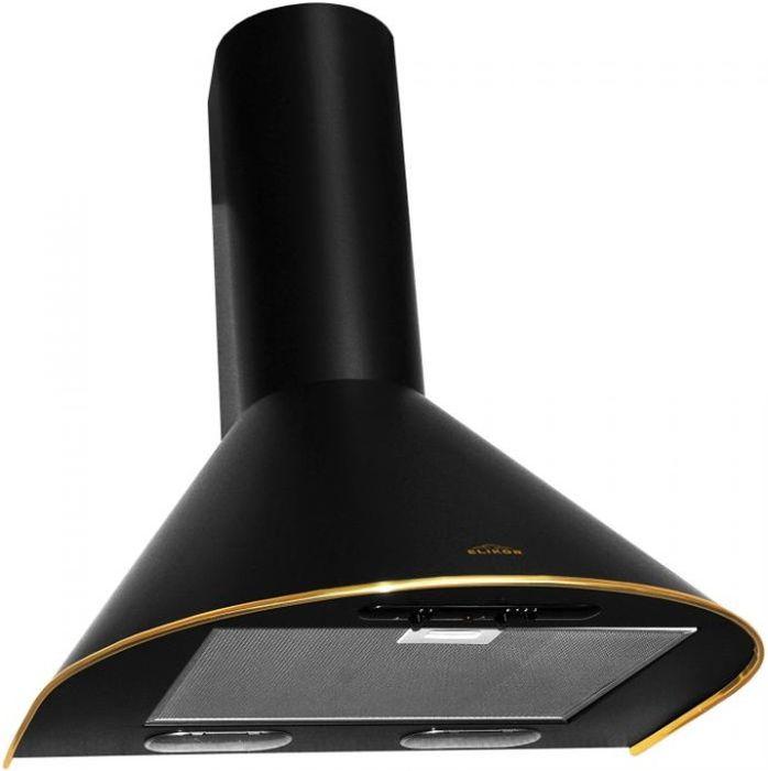 Вытяжка Elikor Эпсилон 60П-430-П3Л, Black Gold, каминная вытяжки для кухни лучшие