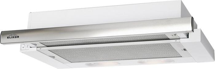 ElikorИнтегра 45П-400-В2Л, White Steel вытяжка встраиваемая Elikor