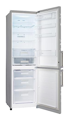 LG GA-B489ZVCK, Silver холодильник