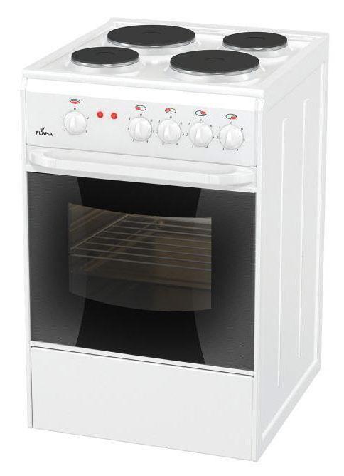 Flama AE 1406 W, White плита электрическая