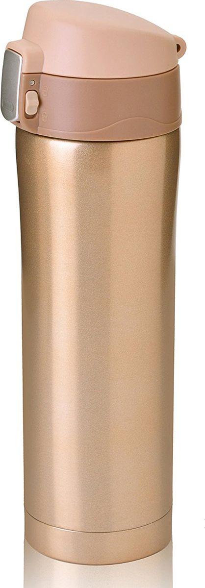 """Термокружка Asobu """"Diva Cup"""", цвет: коричневый, 450 мл"""