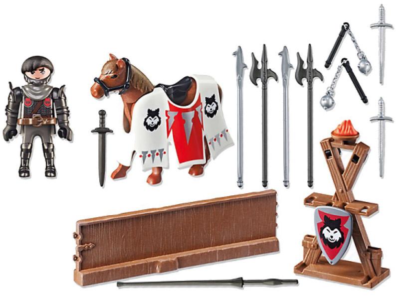 Playmobil Игровой набор Рыцарь Райпан Стражник Черного Барона playmobil игровой набор возьми с собой рыцарь с катапультой
