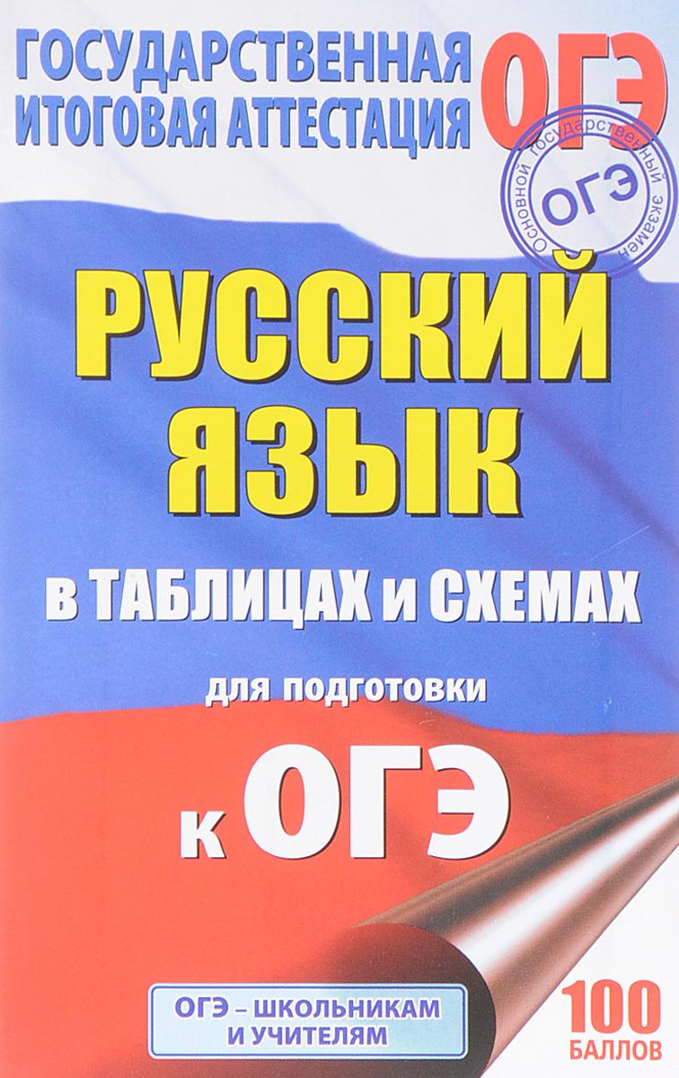 И. В. Текучева ОГЭ. Русский язык в таблицах и схемах. 5-9 классы