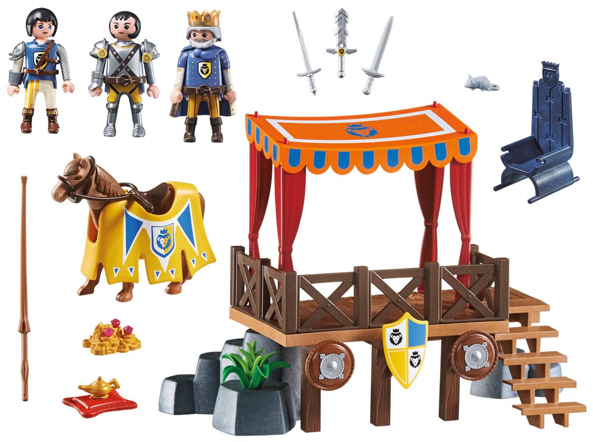 Playmobil Игровой набор Королевская Трибуна с Алексом playmobil® конструктор playmobil супер 4 рыцарь райпан стражник черного барона