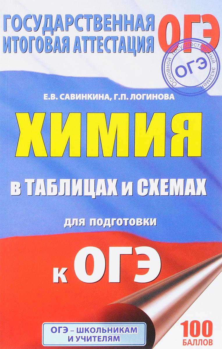 Е. В. Савинкина, Г. П. Логинова Химия в таблицах и схемах. 8-9 классы. Справочное пособие