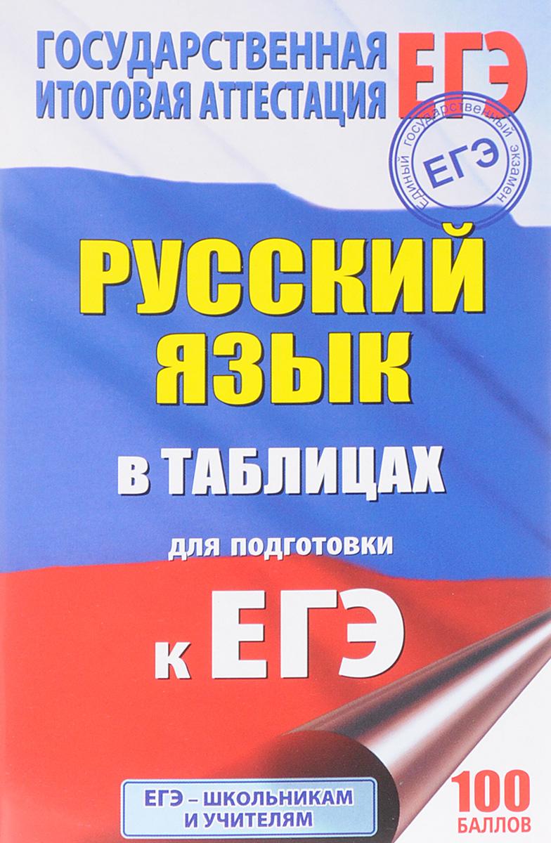 Г. Ф. Савченкова ЕГЭ. Русский язык в таблицах. 10-11 классы
