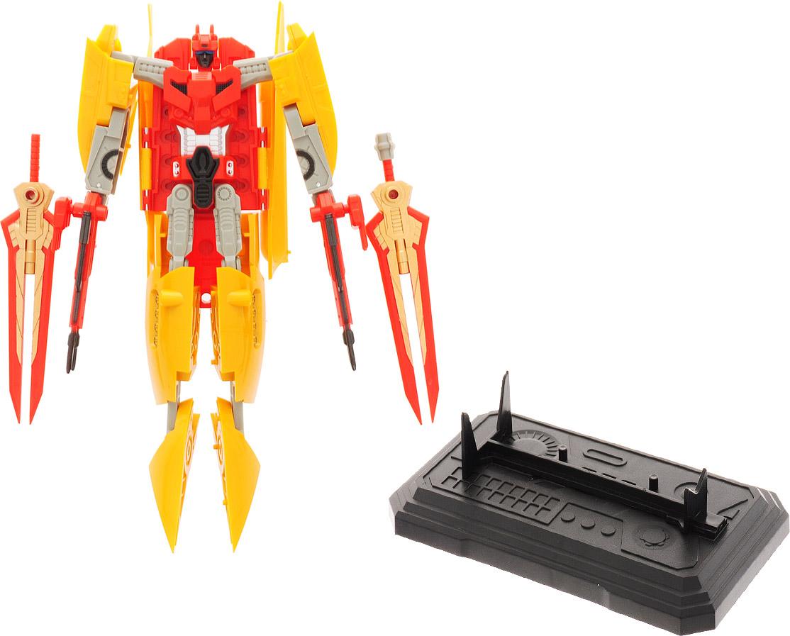 Склад уникальных товаров Робот-трансформер Авианосец XL цвет красный желтый склад уникальных товаров калейдоскоп led большой
