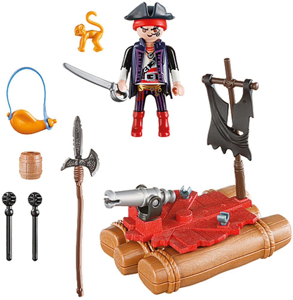Playmobil Игровой набор Возьми с собой Пиратский плот playmobil® пиратский тайник с сокровищами playmobil