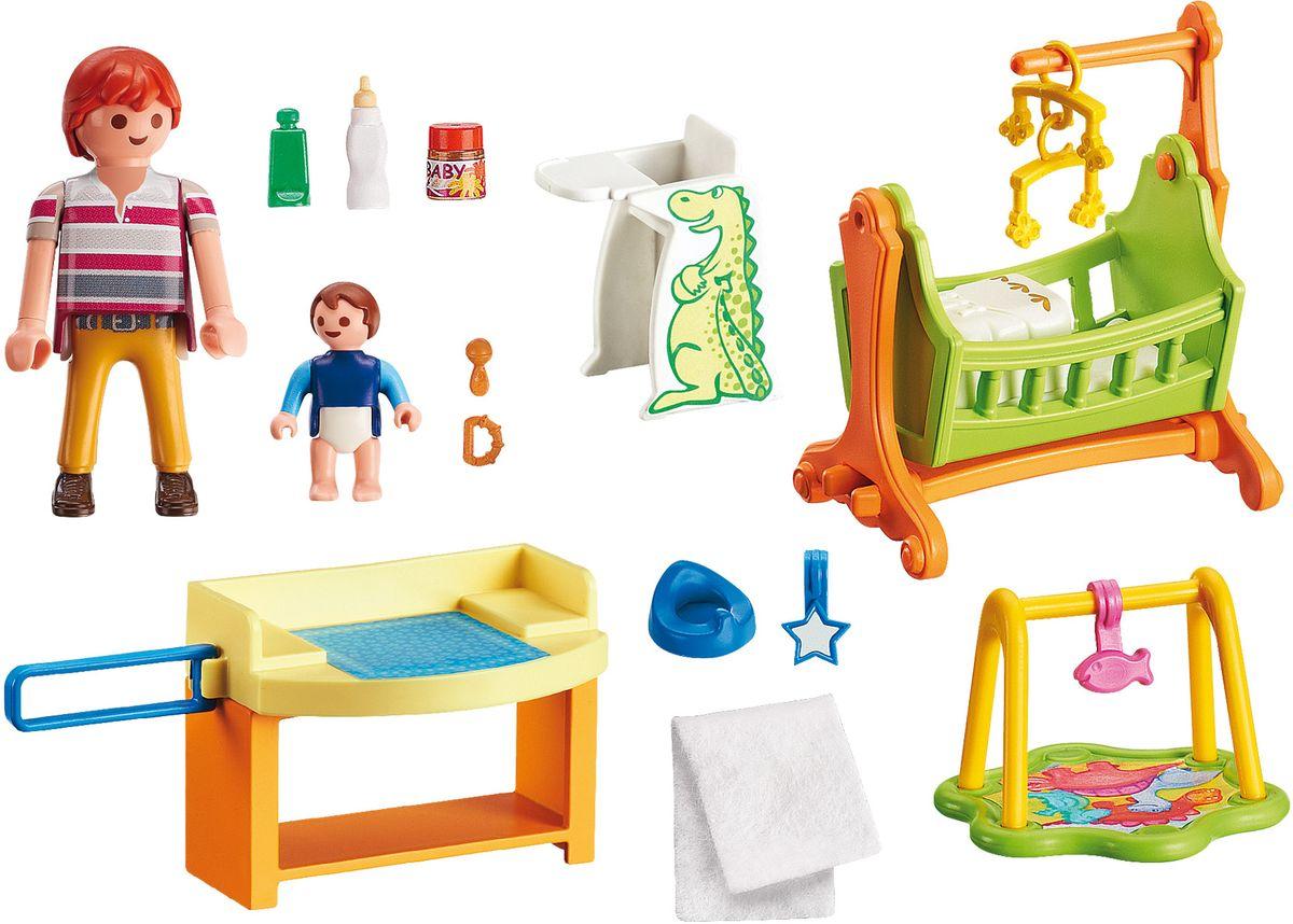 Фото - Playmobil Игровой набор Кукольный дом Детская комната с люлькой playmobil кукольный дом детская комната с люлькой 5304