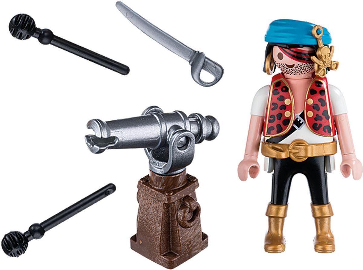Playmobil Игровой набор Пират с пушкой цена