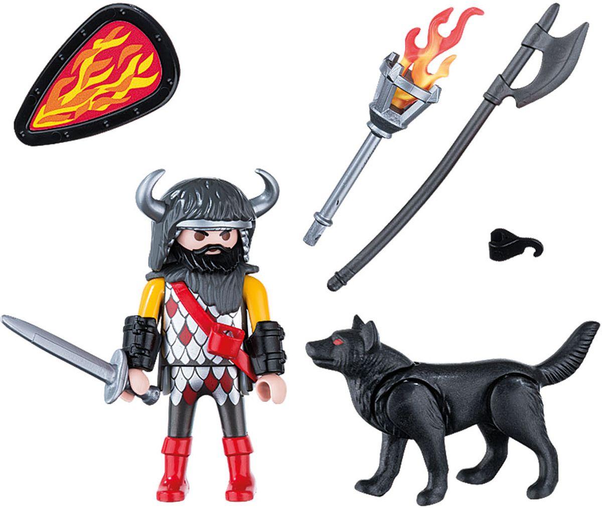 Playmobil Игровой набор Воин волка