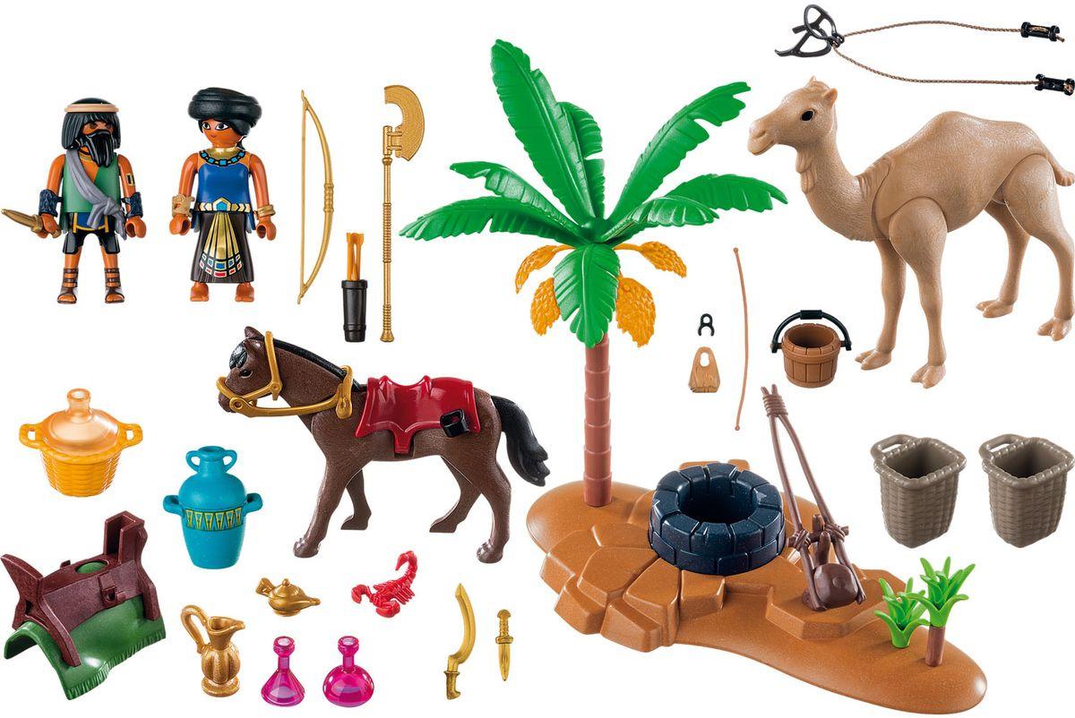 Playmobil Игровой набор Римляне и египтяне Лагерь расхитителей гробниц playmobil® конструктор playmobil римляне и египтяне лагерь расхитителей гробниц