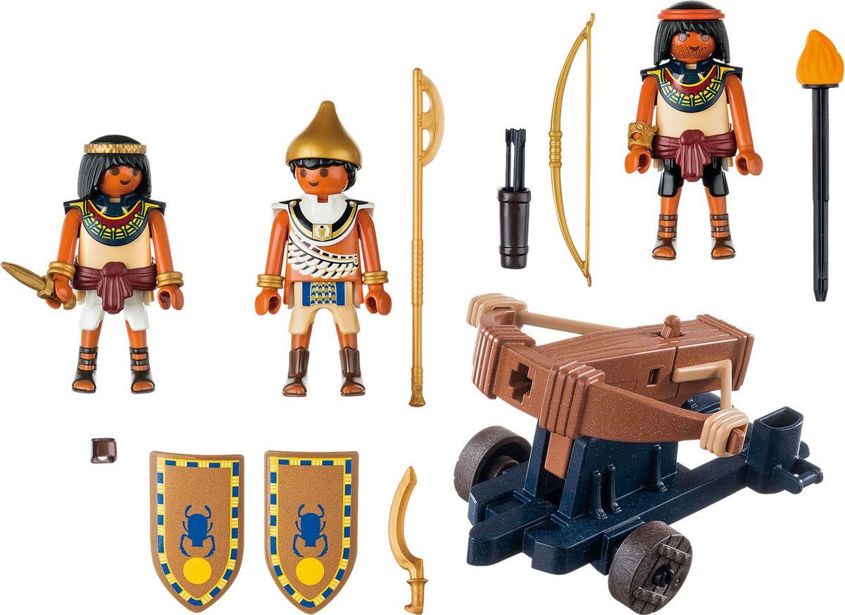 Playmobil Игровой набор Римляне и египтяне Египетский солдат с баллистой playmobil® конструктор playmobil римляне и египтяне лагерь расхитителей гробниц