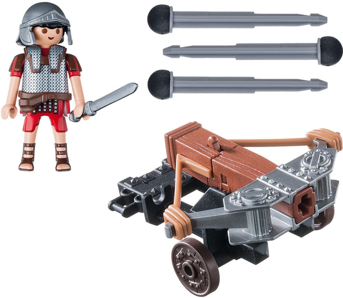 Playmobil Игровой набор Римляне и египтяне Легионер с баллистой playmobil игровой набор детская клиника доктор с ребенком