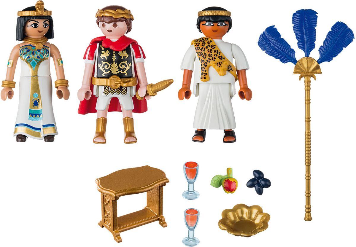 Playmobil Игровой набор Римляне и египтяне Цезарь и Клеопатра playmobil® конструктор playmobil римляне и египтяне лагерь расхитителей гробниц