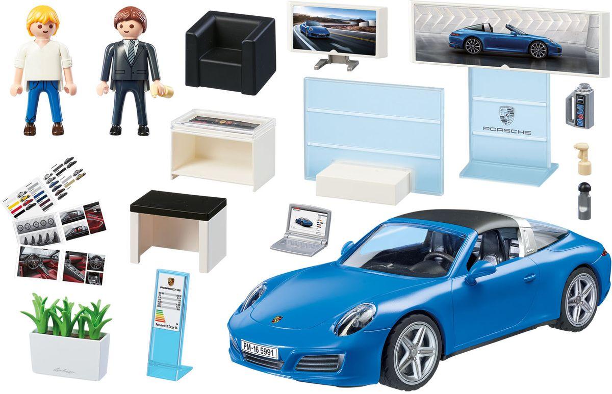 Playmobil Игровой набор Лицензионные автомобили Porsche 911 Targa 4S roca targa 5a0160c02
