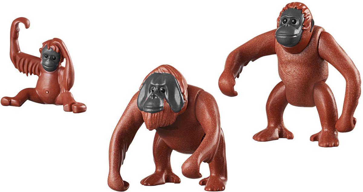Playmobil Игровой набор Зоопарк Семья орангутангов