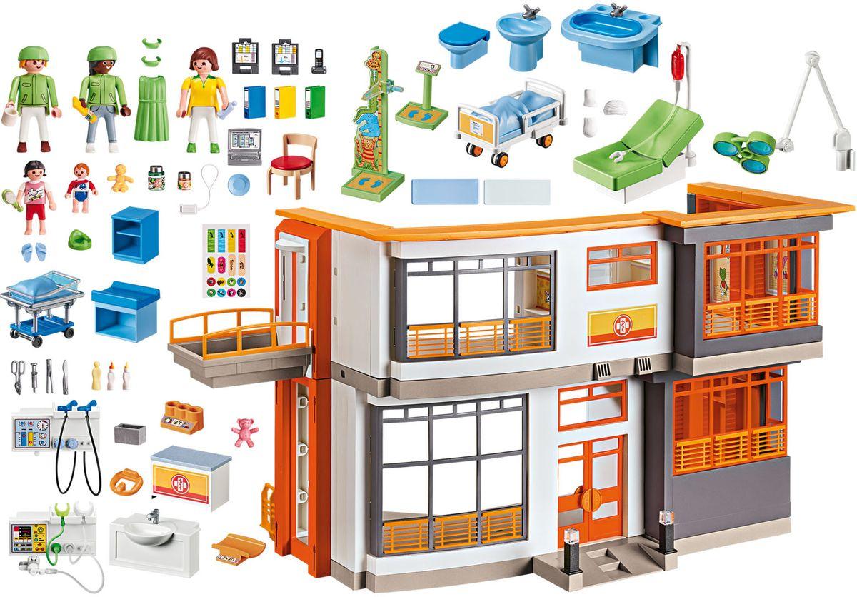 Playmobil Игровой набор Меблированная детская больница