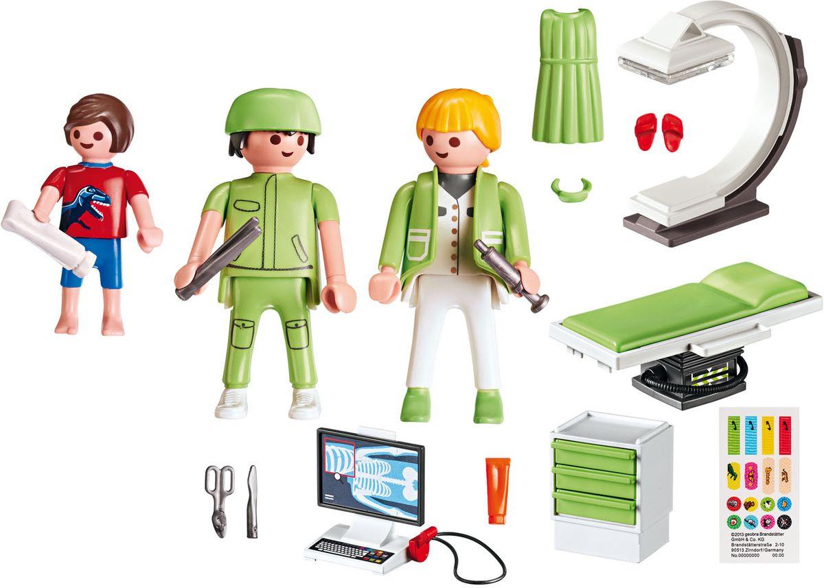 Playmobil Игровой набор Детская клиника Рентгеновский кабинет playmobil игровой набор детская клиника доктор с ребенком
