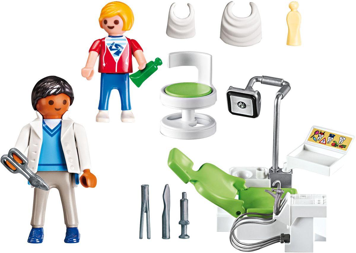 Playmobil Игровой набор Детская клиника Дантист с пациентом playmobil игровой набор детская клиника доктор с ребенком