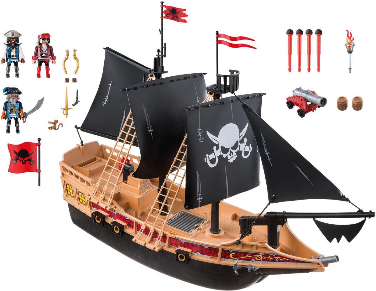 Playmobil Игровой набор Пираты Пиратский боевой корабль playmobil® пиратский тайник с сокровищами playmobil