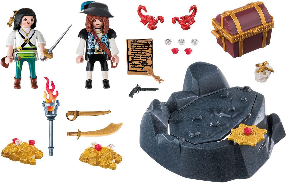Playmobil Игровой набор Пиратский тайник с сокровищами