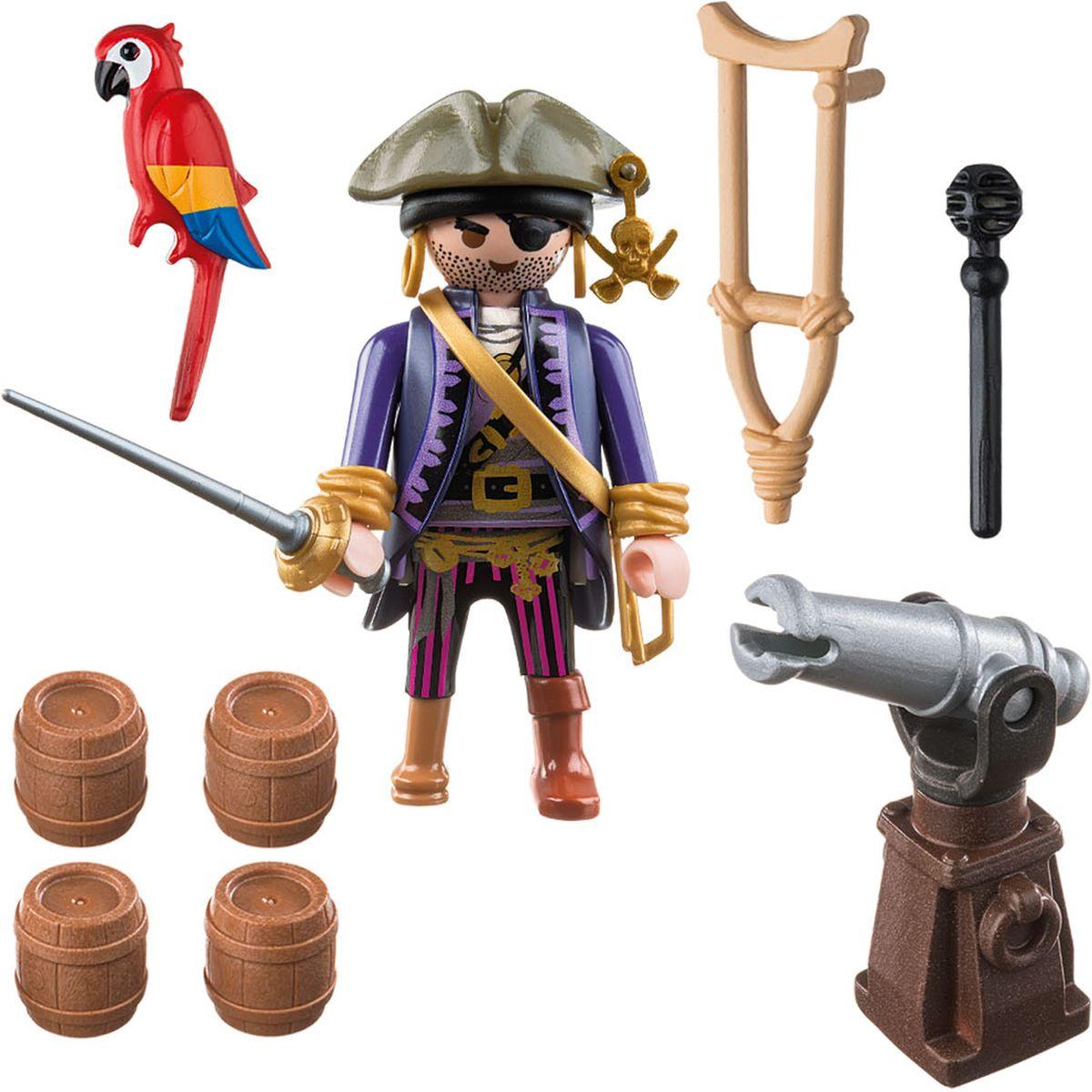 Playmobil Игровой набор Пираты Капитан пиратов playmobil игровой набор аквариум рыба меч с детенышем