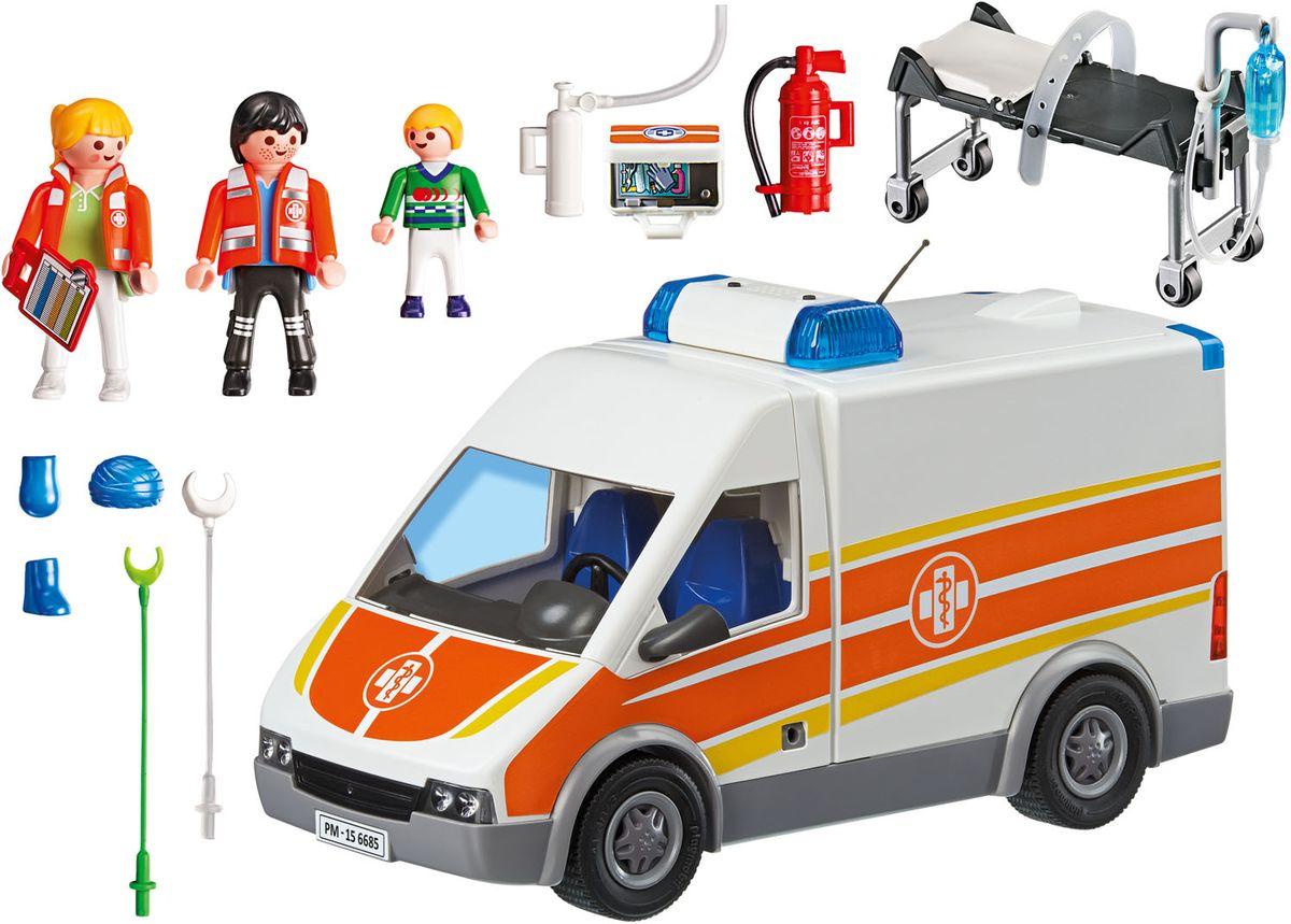 Playmobil Игровой набор Детская клиника Машина скорой помощи playmobil игровой набор детская клиника доктор с ребенком
