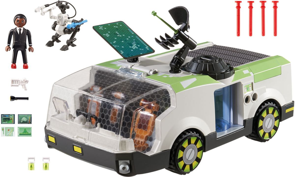 Playmobil Игровой набор Техно хамелеон с Джином