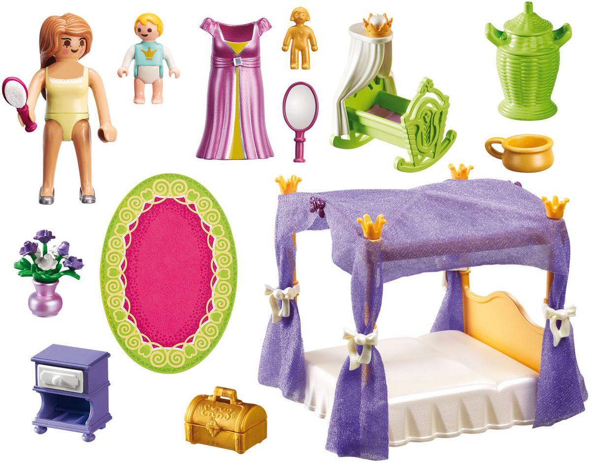 Playmobil Игровой набор Покои Принцессы с колыбелью