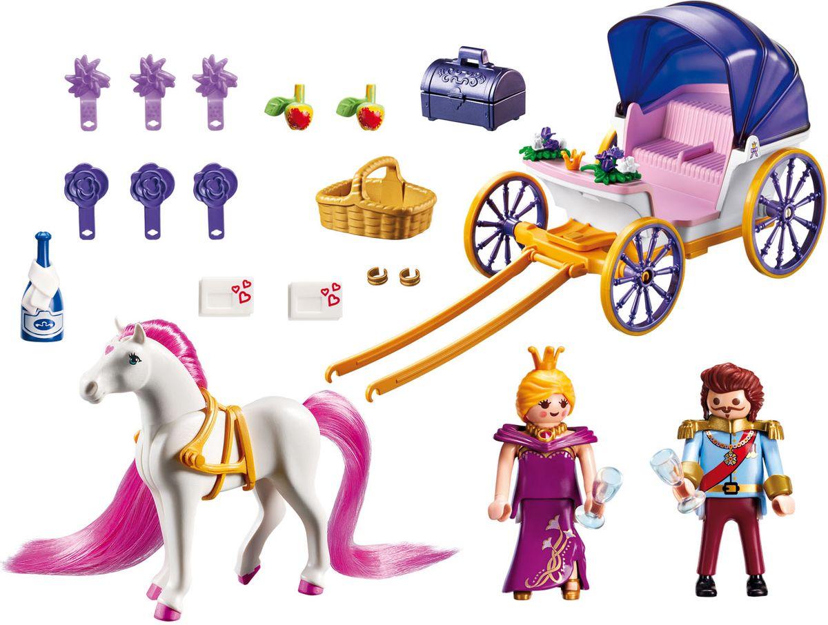 Playmobil Игровой набор Королевская чета с каретой
