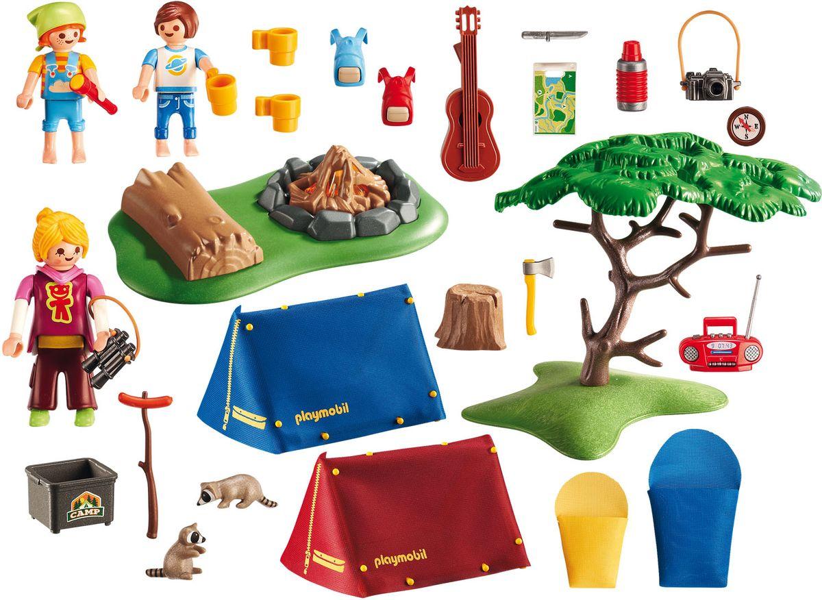 Фото - Playmobil Игровой набор Летний лагерь Турбаза со светодиодным костром playmobil летний лагерь турбаза со светодиодным костром 6888