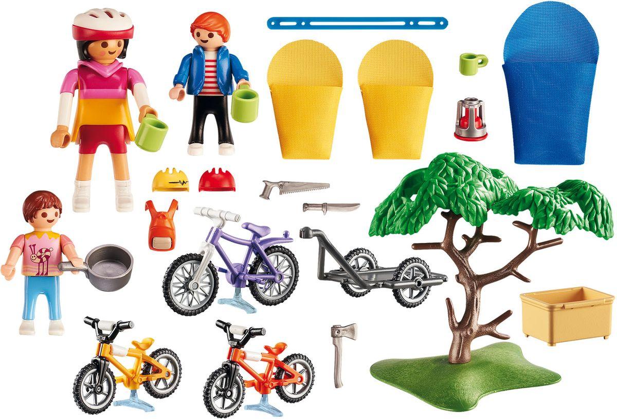 Playmobil Игровой набор Летний лагерь Велопрогулка спальные мешки конверты пижамы dave