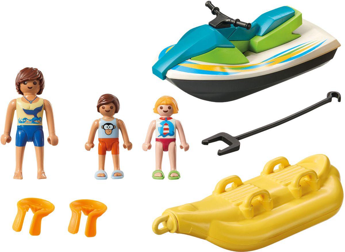 Playmobil Игровой набор Гидроцикл с лодкой банан