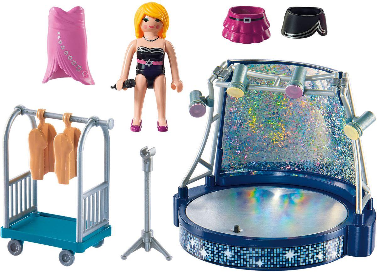 Playmobil Игровой набор Певица со сценой