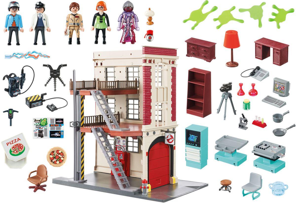 Playmobil Игровой набор Здание пожарной службы