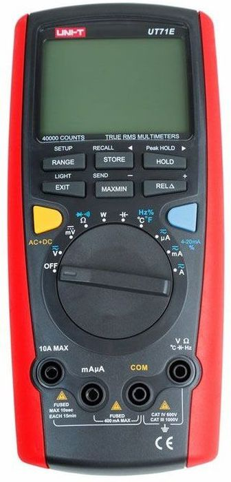 Мультиметр профессиональный Unit UT71E