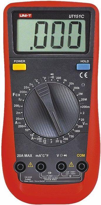 Универсальный мультиметр Unit UT151C