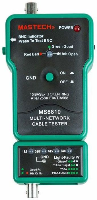 Тестер с генератором сигнала Mastech MS6810 тестер с генератором сигнала mastech ms6812